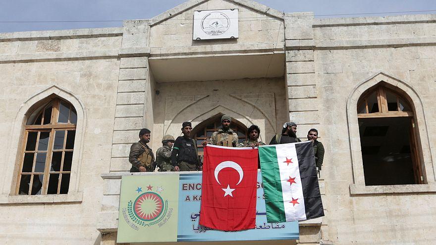 Eρντογάν: «Η σημαία μας κυματίζει στην Αφρίν»