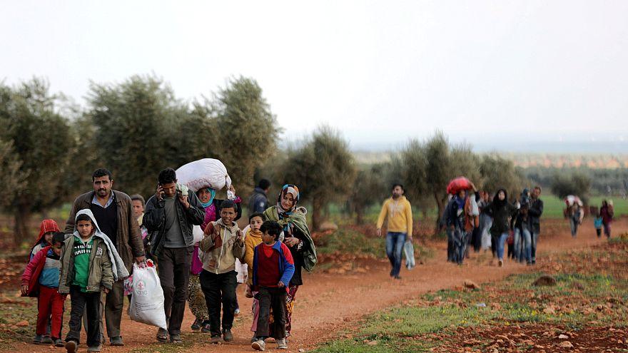 A Afrine et dans la Ghouta, les civils en fuite
