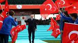 Elfoglalta Afrin belvárosát a török hadsereg
