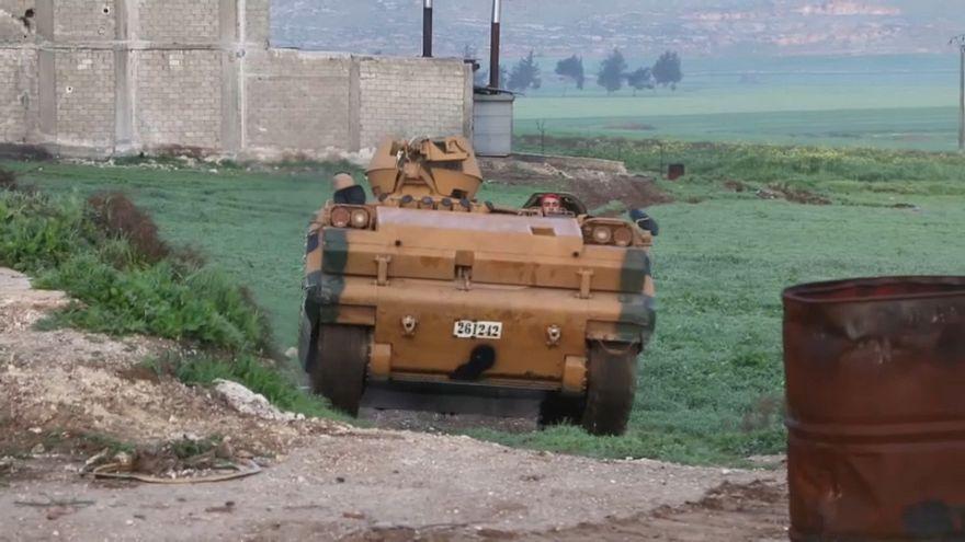 Siria, esercito turco entra ad Afrin