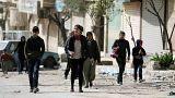 Ataques em Afrin e Ghouta intensificam fuga de refugiados sírios