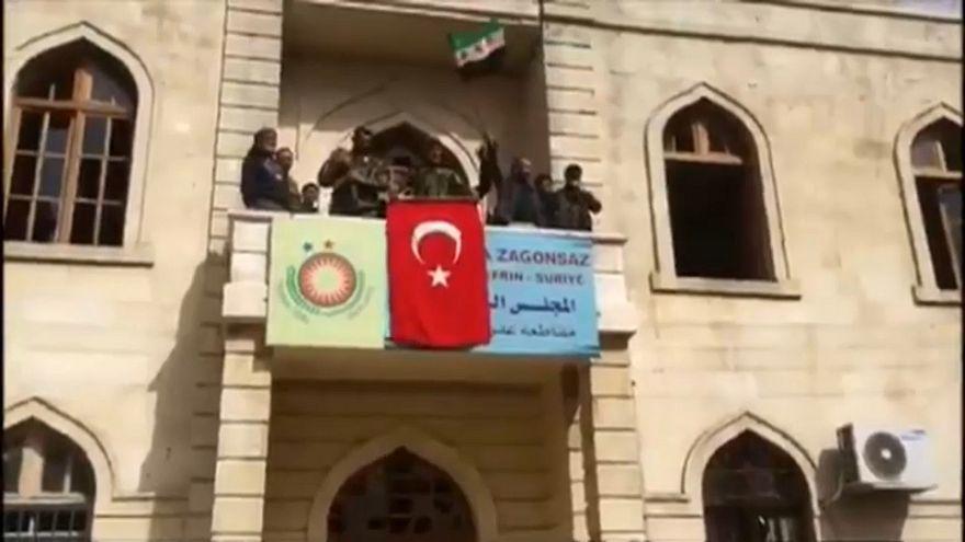 Turkey takes control of Afrin in Syria