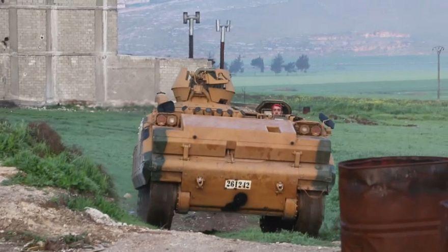 Las tropas turcas han tomado la ciudad siria de Afrín