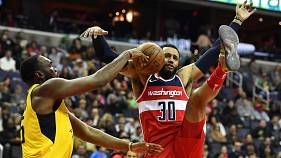 NBA: Θέαμα και αγωνία μέχρι τη νίκη των Ουίζαρντς επί των Πέισερς