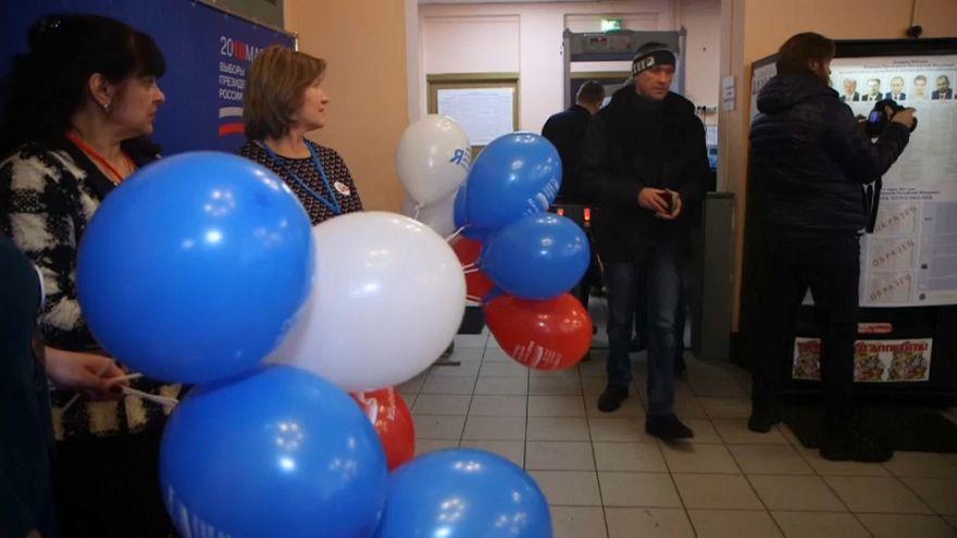 Polls open across Russia