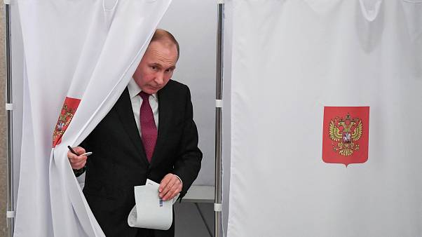 Rekord részvétel az orosz elnökválasztáson