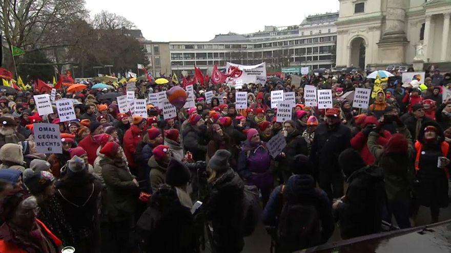 Autriche : manifestation contre la montée du racisme