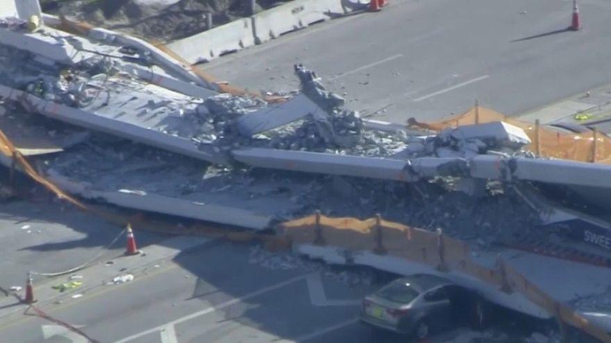Miami: 3 Tote nach Brückeneinsturz geborgen