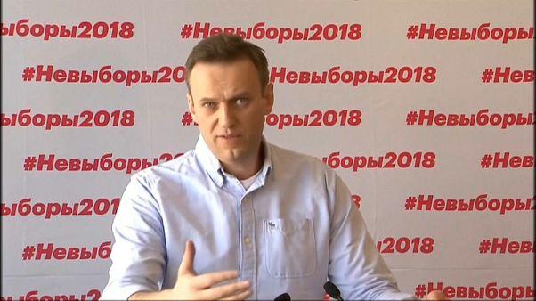El opositor ruso Navalny denuncia irregularidades en las elecciones