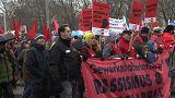 Protesta antirracista contra el Gobierno austriaco