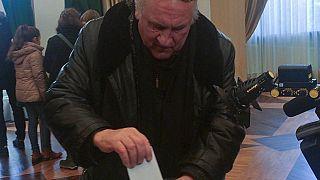 Ο Ζεράρ Ντεπαρντιέ ψήφισε στις ρωσικές εκλογές