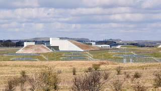 Porton Down Defence Science and Technology Laboratory in Wiltshire