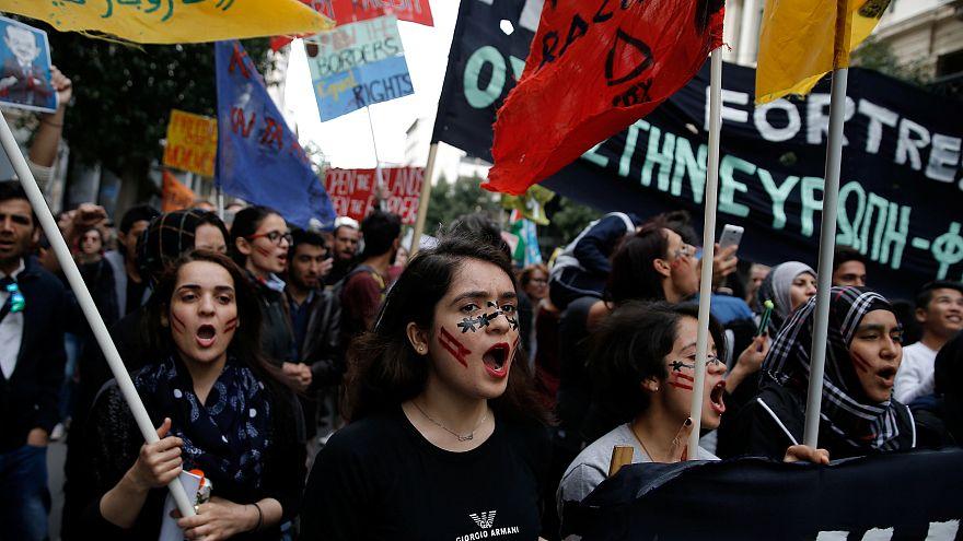 Συλλαλητήρια κατά του φασισμού και του ρατσισμού