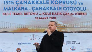 Erdoğan: Bize hasta adam diyenler şimdi hasta adam oldu