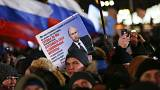 Putin wins landslide victory in Russia's presidential election