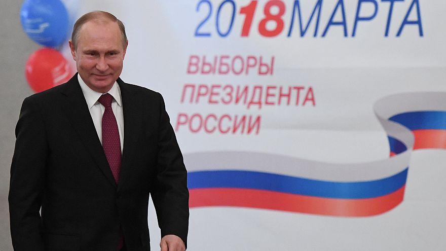 النتائج الأولية للانتخابات الروسية تظهر فوزا كبيرا لبوتين