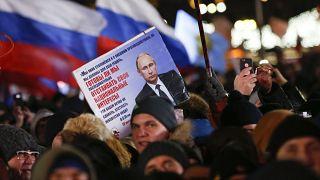 Klarer Sieg für Putin bei Präsidentenwahl