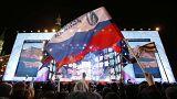 Владимир Путин лидирует на выборах