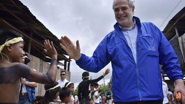 Στην Κολομβία ο Χρήστος Στυλιανίδης
