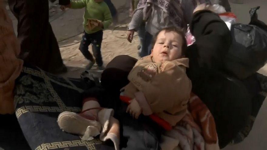 70.000 Zivilisten auf der Flucht