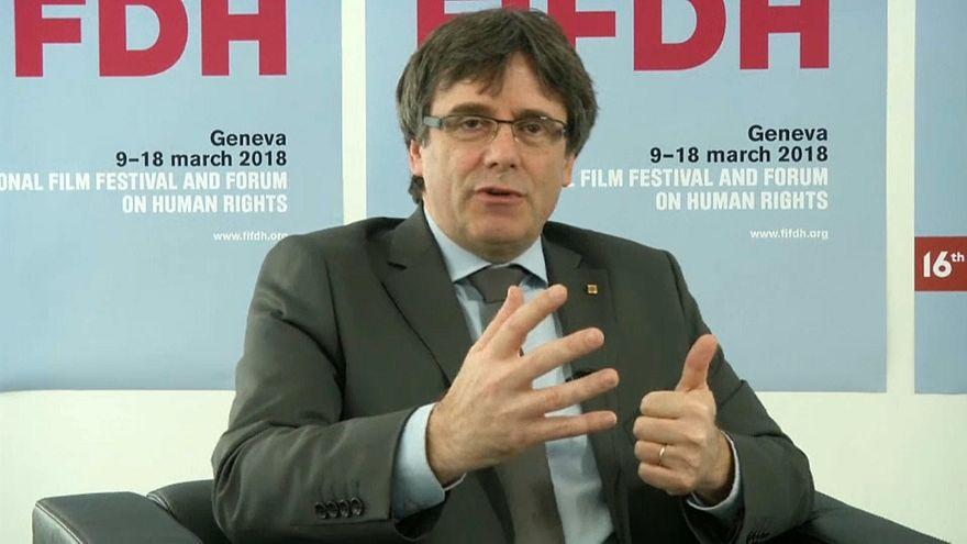 Puigdemont afirma que la independencia no es la única solución para Cataluña