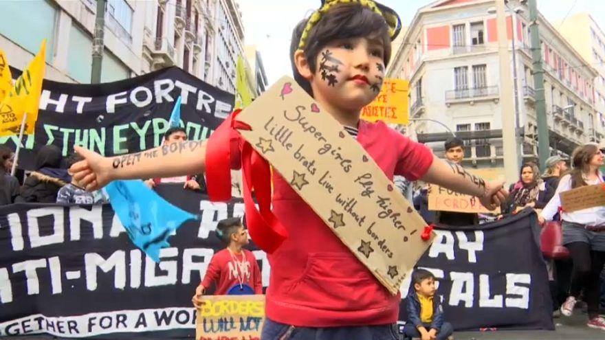 Athen: Demonstration gegen Rassismus