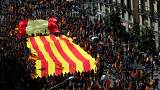 Thousands march in Barcelona for Spanish unity