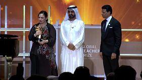 North London teacher crowned world's best