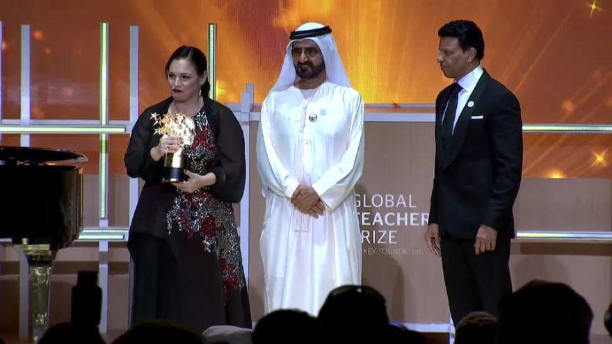 Dünyanın en iyi öğretmeni ödülünü İngiliz Andria Zafirakou aldı