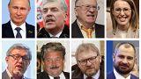 Rusya devlet başkanlığı seçimlerini kaybeden adaylar
