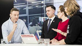 Russian opposition leader Navalny