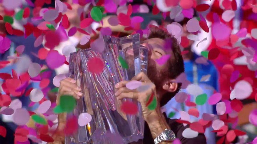 خوان مارتن دل بوترو يفوز في بطولة انديان ويلز