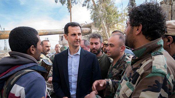 Στην Ανατολική Γούτα ο Μπασάρ αλ-Άσαντ