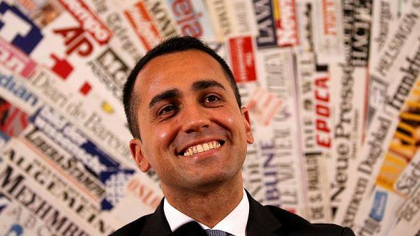 Fünf-Sterne-Bewegung-Kandidat Luigi Di Maio vor der Wahl am 4. März.
