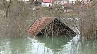 Árvíz miatt szükségállapot Horvátországban