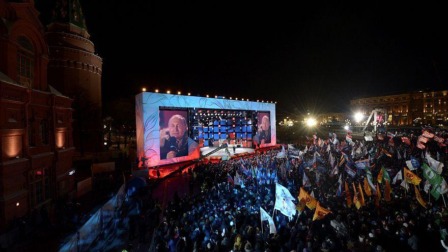 En Russie, la réélection plébiscite de Poutine