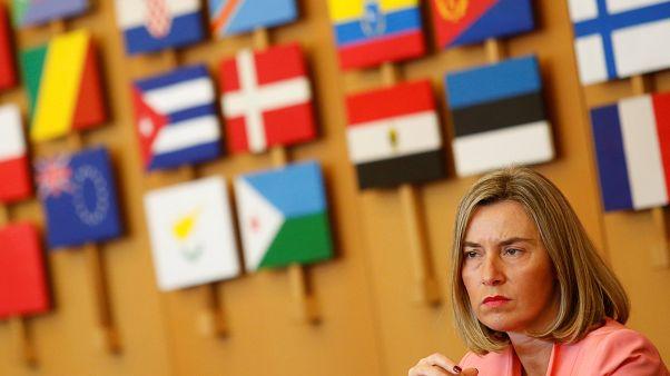 مسؤولة الشؤون الخارجية للاتحاد الأوروبي فريدريكا موغيريني