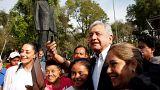 López Obrador en Ciudad de México