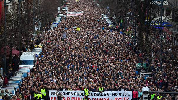 """Spagna, i nuovi """"indignados"""" sono i pensionati in rivolta"""