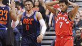Un immense Westbrook fait plier les Raptors