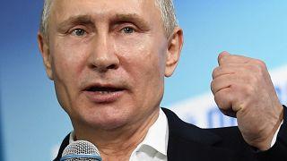 O dia seguinte da Rússia à eleição de Vladimir Putin