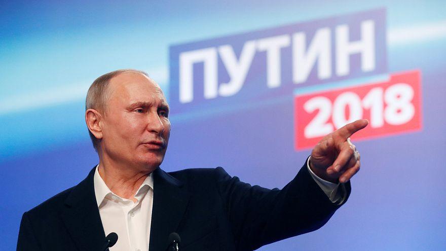 5 başlıkta Rusya başkanlık seçimleri