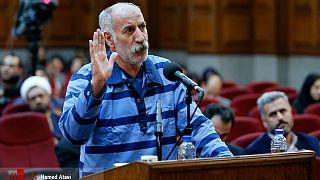 محمدرضا ثلاث در سومین دادگاه بررسی حوادث خیابان گلستان هفتم پاسداران