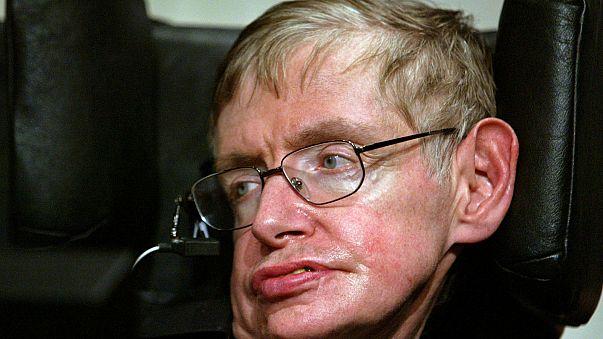 Stephen Hawking starb am 14.03.2018  im Alter von 76 Jahren in Cambridge