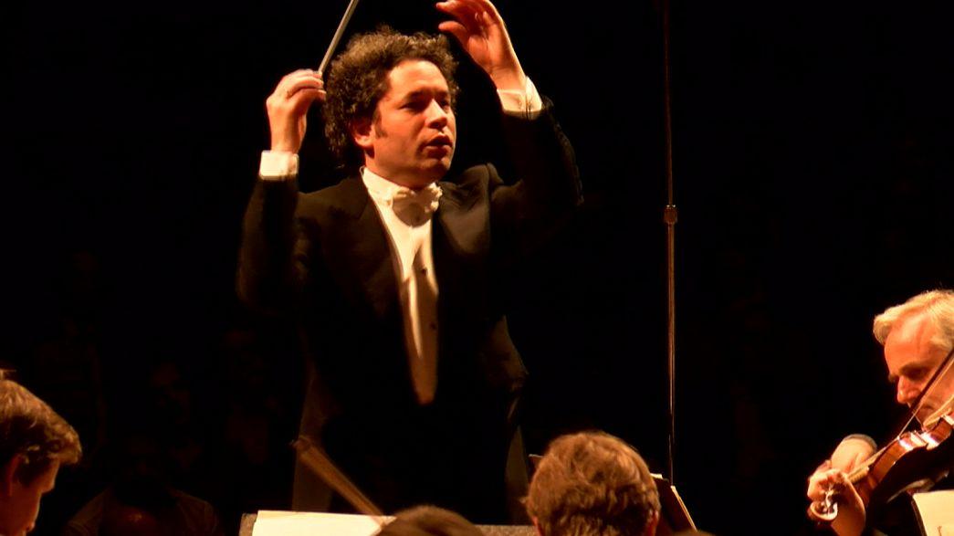 Gustavo Dudamel begeistert mit Wiener Philharmonikern auf ihrer Amerika-Tournee