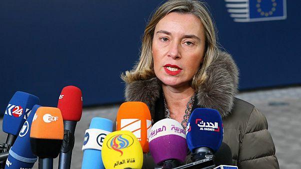 AB Dış İlişkiler Şefi Mogherini: Suriye konusunde endişeliyim