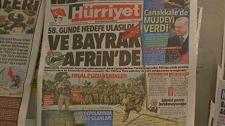 Türkiye'de gündem: Afrin