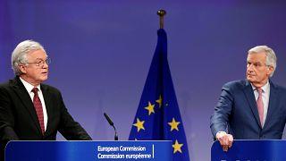 """L'UE et Londres """"d'accord"""" sur les termes d'une période de transition post-Brexit"""