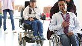 Modelos con discapacidades desfilan por primera vez en Irán