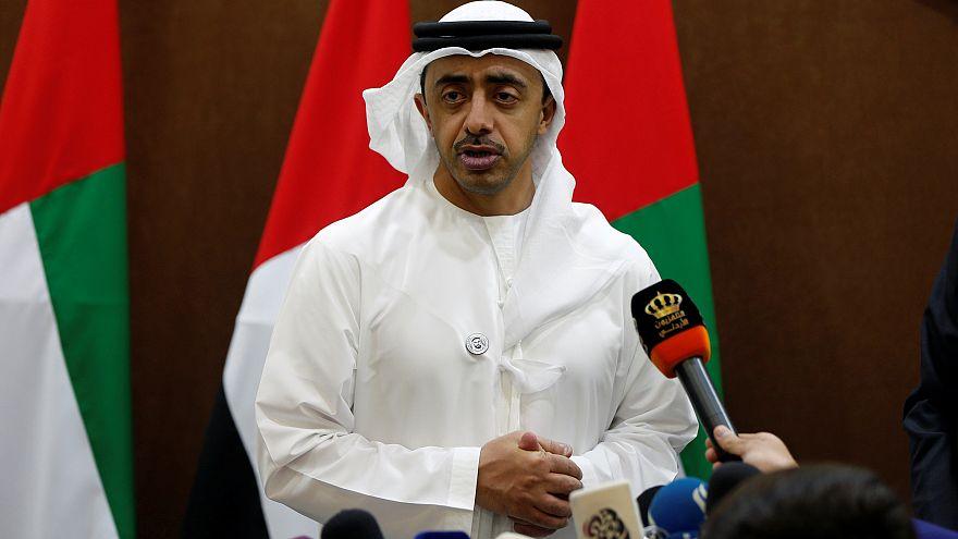 وزير خارجية الإمارات عبدالله بن زايد